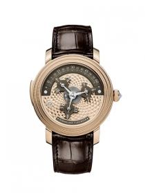 帕瑪強尼TORIC CAPITOLE棕色玫瑰金款 源自19世紀的現代驚艷時計杰作