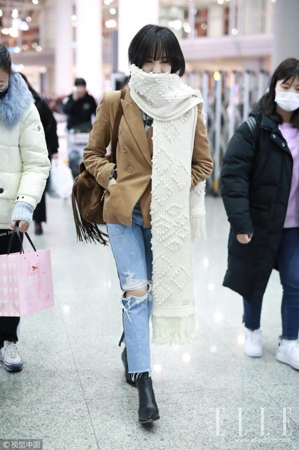 这个冬天,围巾就要长!长!长!