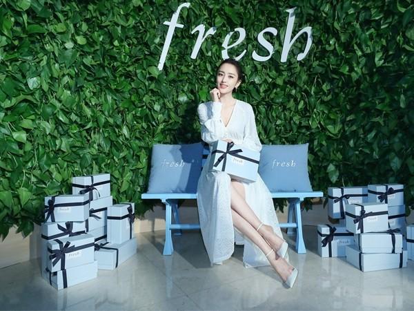 "Fresh馥蕾诗2019全新启程 携手全新品牌代言人佟丽娅 全球同步发售红茶""紧身衣""眼精华"