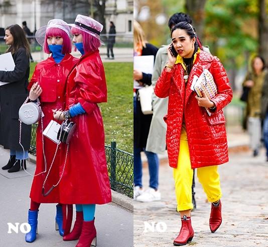 新年少不了的红色单品,妆容怎么搭不土气?