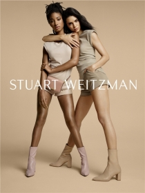 Stuart Weitzman 2019春夏广告大片-?#22856;欢?#31435;女性携手闪耀登场