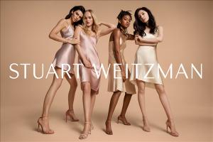 Stuart Weitzman 2019春夏广告大片-四位独立女性携手闪耀登场