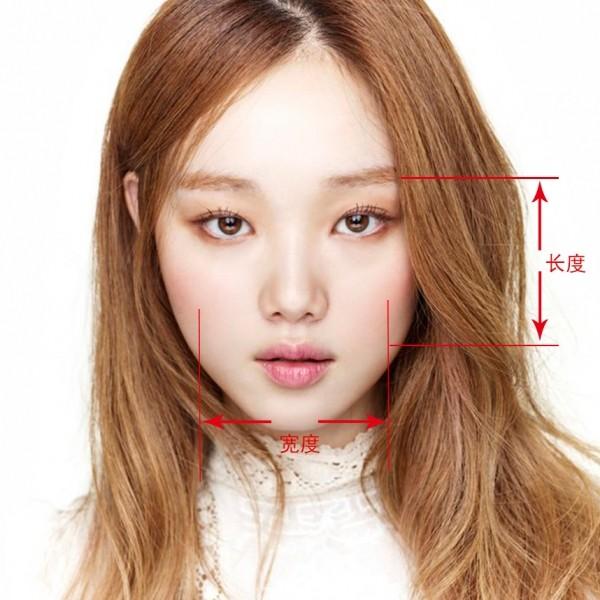 这样测量,终于搞清楚自己的脸型!