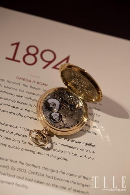 """""""欧米茄""""之名,诞生125周年"""