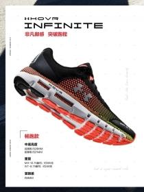 全新革命性UA HOVR系列跑鞋:智能,能量,舒適的完美結合