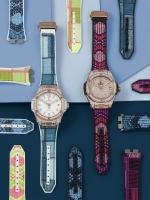 炫彩时尚搭配 每日随心变幻  HUBLOT宇舶表Big Bang一键式腕表推出全新表带系列