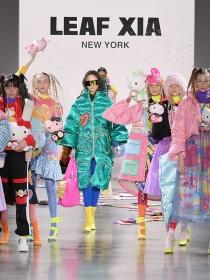 时尚品牌LEAF XIA AW19纽约时装周发布超萌系列