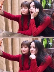 """欧阳娜娜同框网红,没有她""""撩""""不到的妹!"""