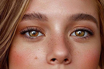 """涂眼霜的时候注意最容易出现的""""卡粉纹""""!"""
