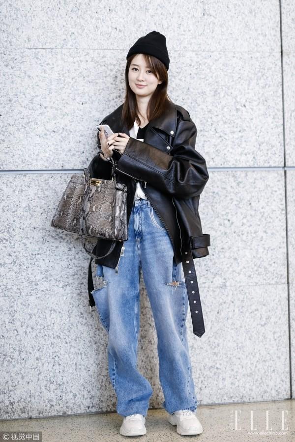 都知道女星们对这条裤子爱得深沉,刘涛欣秦岚却穿出了不同风格