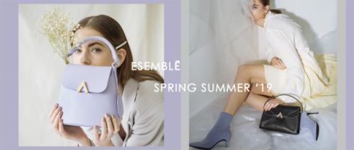ESEMBLĒ 发布2019春夏系列