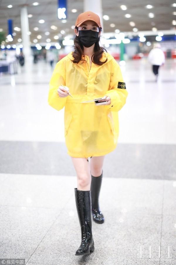 """""""小枫""""彭小苒的""""雨衣裙""""太惹眼?吴谨言穿""""低调""""开衫也吸睛"""