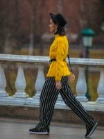 梅赛德斯-奔驰俄罗斯时装周最美50张街拍
