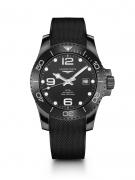 浪琴表优雅呈现康卡?#39592;?#27700;系列新款全陶瓷腕表