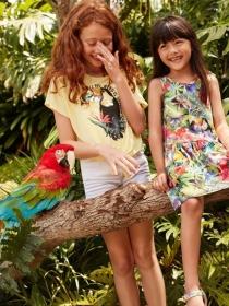 H&M携手英国艺术家Kate Morgan推出童趣丛林主题系列印花童装