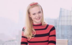 ELLE x Elle Fanning:1分钟教你学会Miu星语!